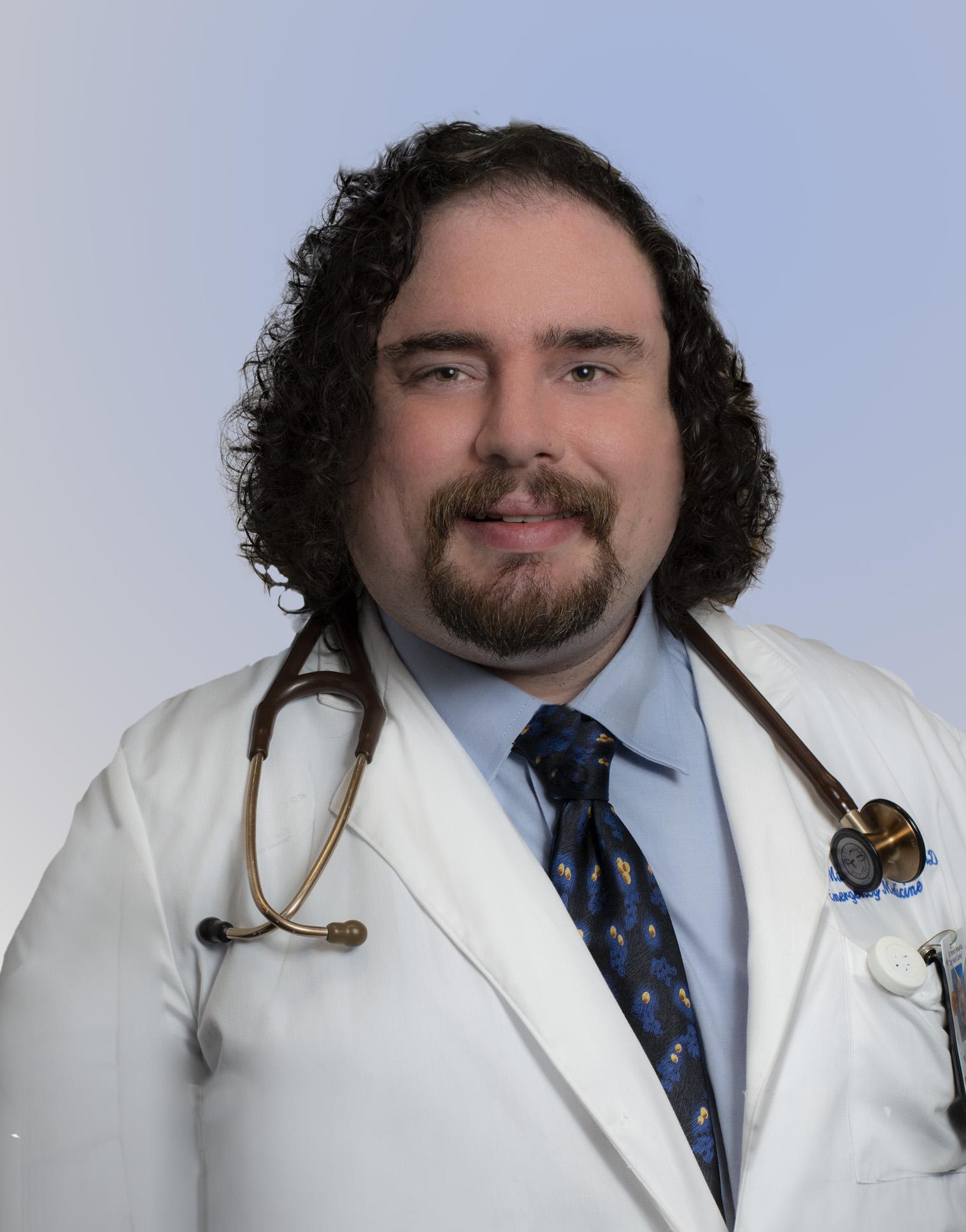 Stefan M. Muehlbauer, M.D., Ph.D., FACEP