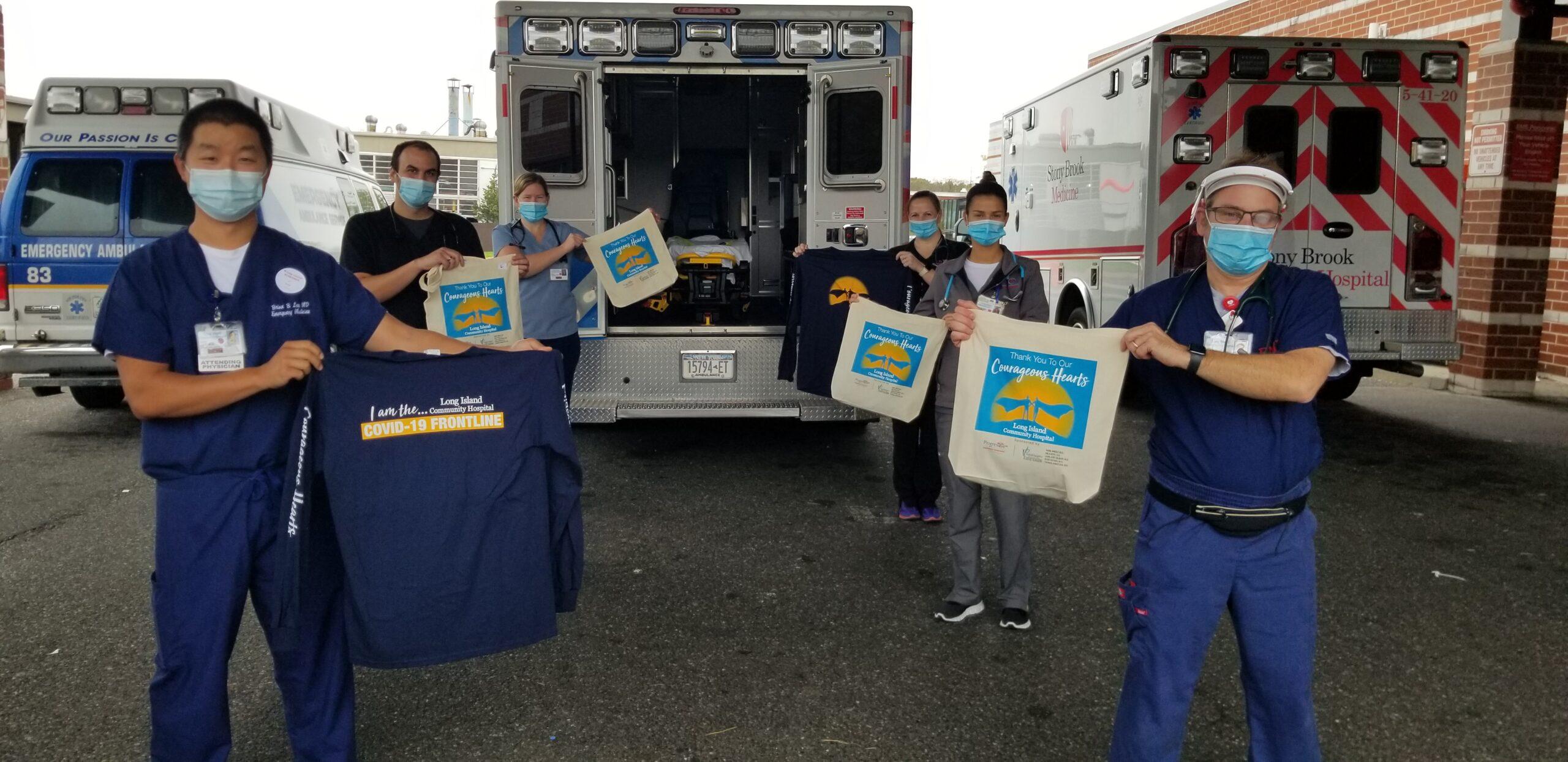 Long Island Community Hospital Heroes during Heroes Week